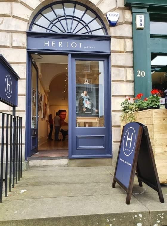 New representation by Heriot Gallery,Edinburgh